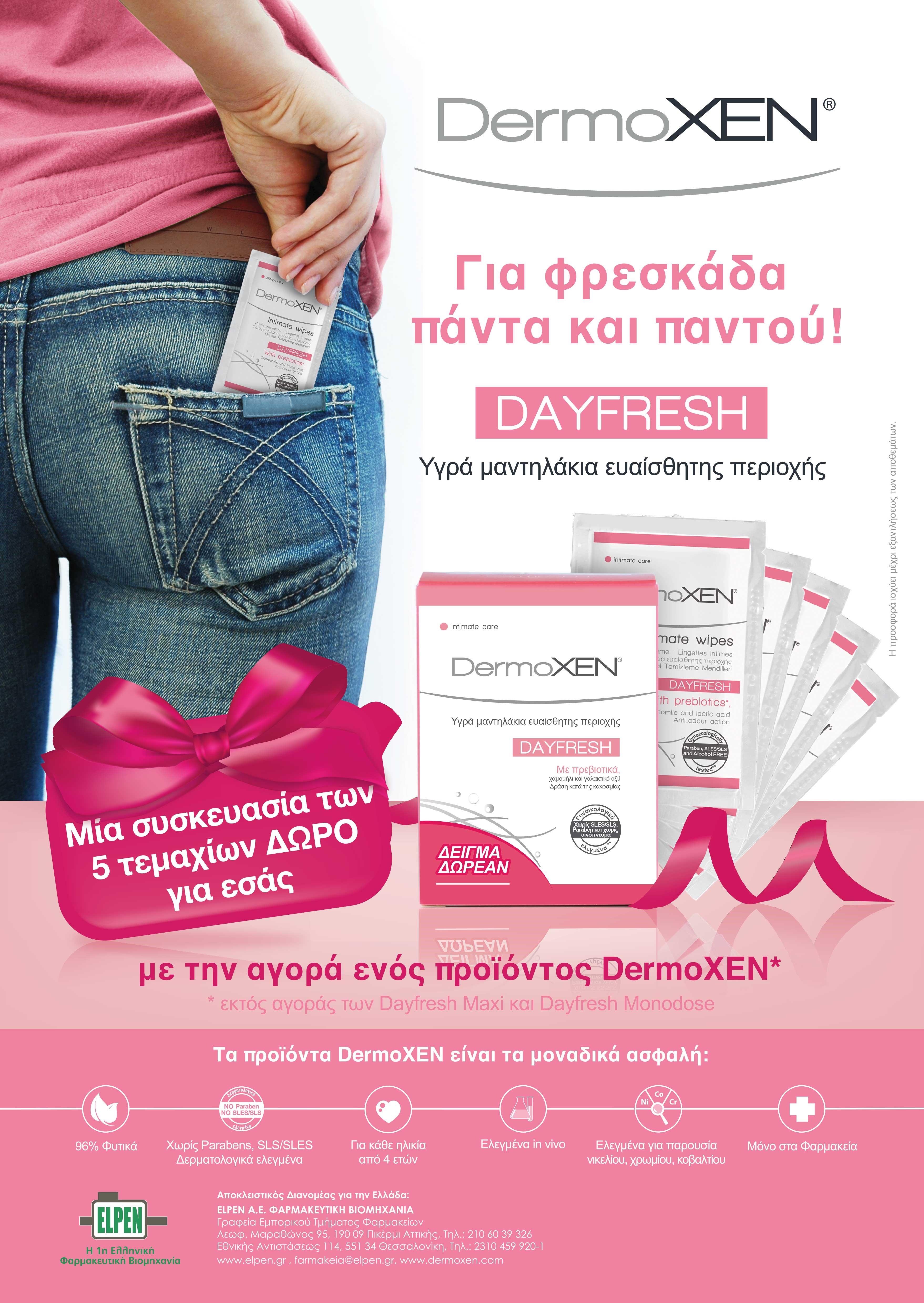 Dermoxen Προϊόντα για την ευαίσθητη περιοχή